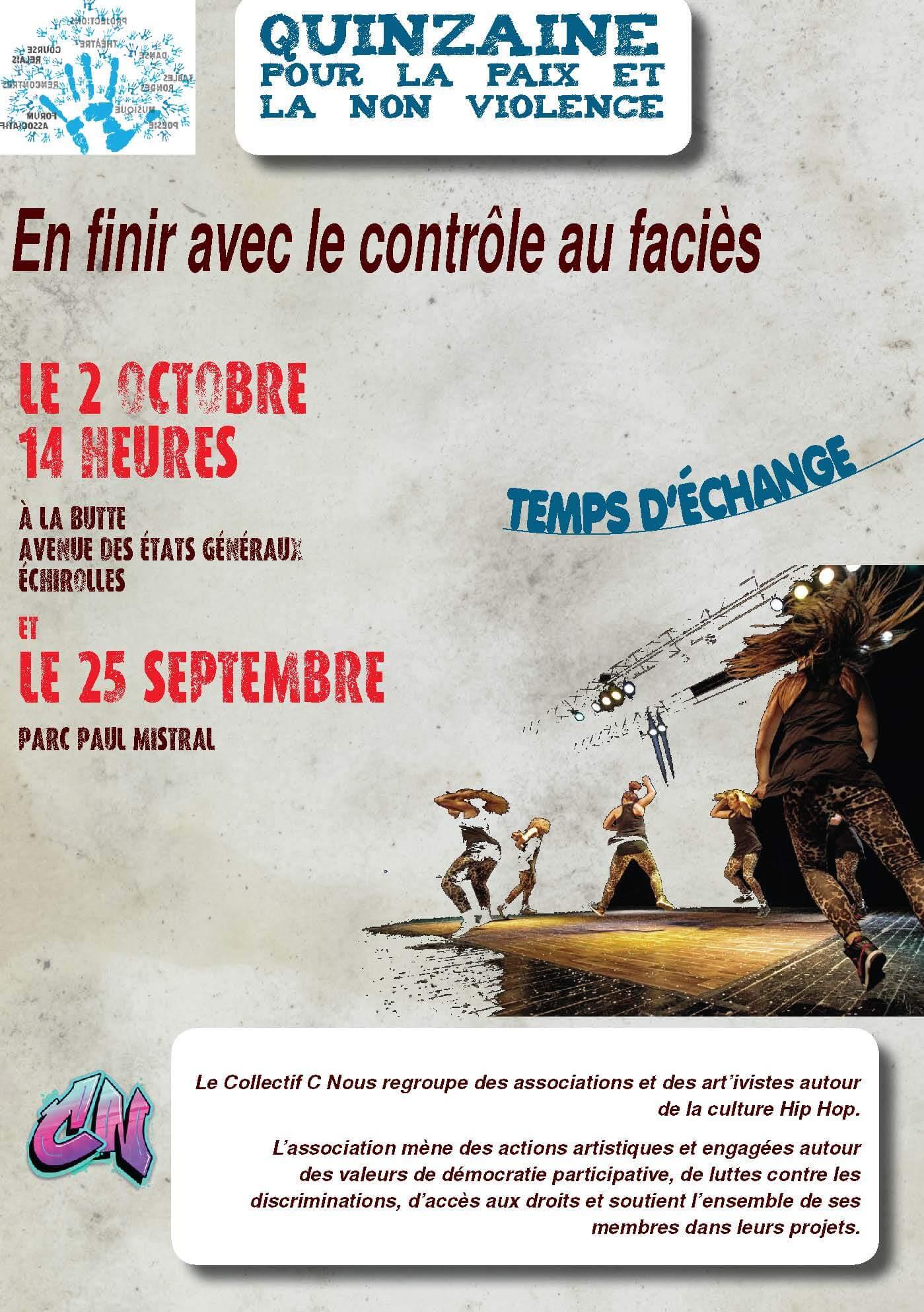 Read more about the article Quinzaine pour la paix – Echirolles
